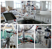high quality CE automatic spray aerosol paint filling machine in china