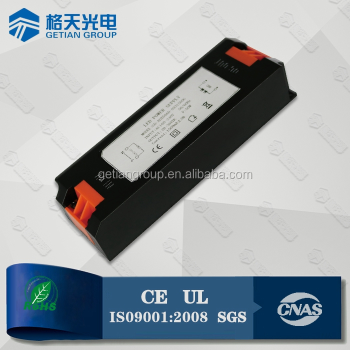 Constant Current 50W LED Driver CE UL Approved LED Driver