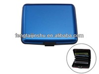 2013 New Design Multi Function Big Size Aluminium Card Wallet/Holder/case