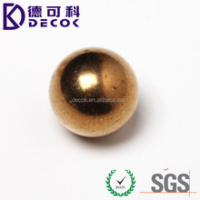 copper sphere hollow 30mm metal ball polished