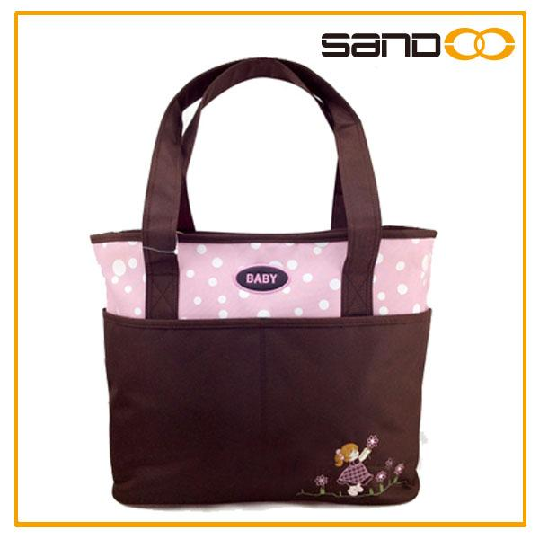 Disny audit factory, mom diper tote, wholesale fashion mummy diaper bag