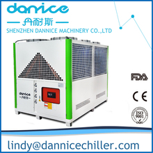 2017 New Condition 140kw 40TR Industrial air cooled chiller for Blow molding machine in Egypt