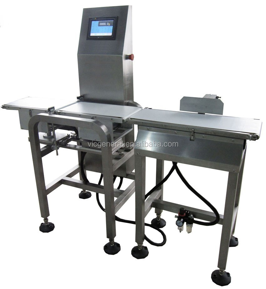 Online Check Weigher with automatic rejection system