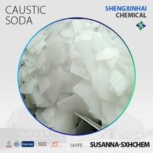 uses caustic soda flakes/Sodium hydroxide 96%&99% textile/detergent/paper making raw material industrial grade