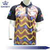 100 Polyester Sublimated Customized Logo Mens