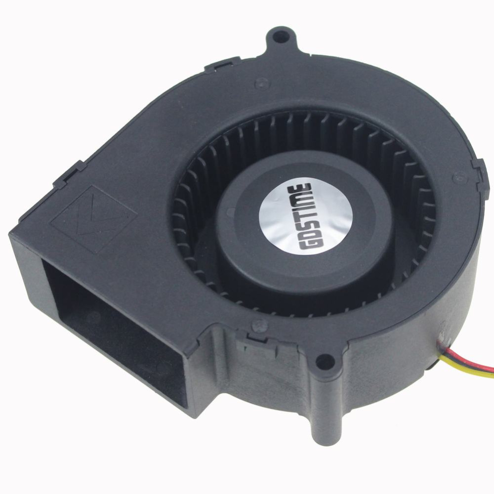 97mm x 97mm x 33mm 4 Inch 9733 DC Waterproof Blower Fan
