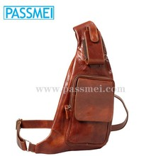 Genuine Leather Men's Messenger Cross Body Bags