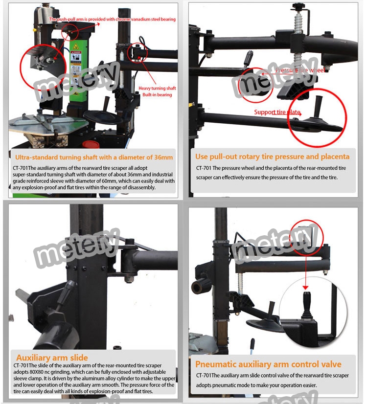 Automatic machine dismantled Tyres used unite tire repair equipment tire changer
