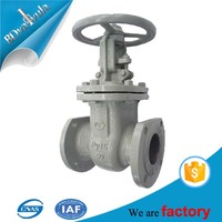 Cast steel flange Gost gate valve prices