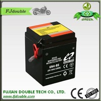 Competitive price lead acid battery 6v 4ah for motorcycle