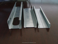 Galvanised steel C channel for construction