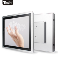 Same Style 10 10.4 12.1 15 17 19 21.5 Inch Resistive Touch Screen Monitor Industrial Open Frame Lcd Monitor