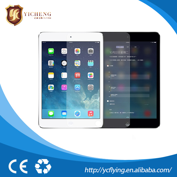 Whole Transparency with sensitive touch smart glass protective screen for Ipad