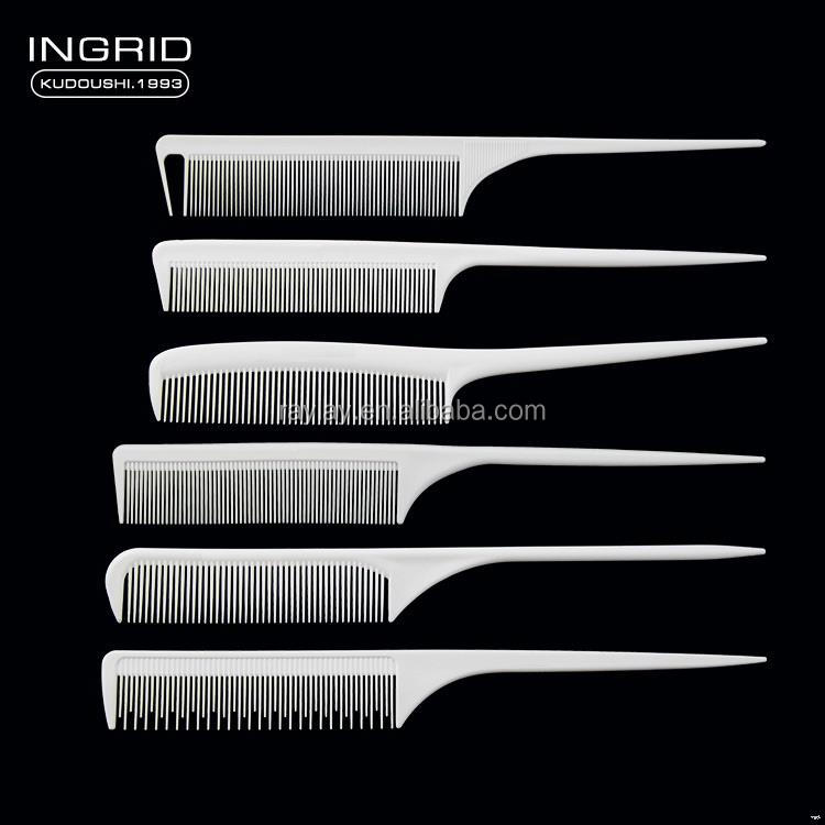 Design stylish round plastic hair combs made in china