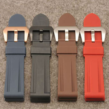Handmade Band 22/24/26mm Rubber Silicone Watch Strap Band