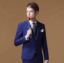 China manufacturer OEM service button blank slim fit gorgeous men blue wedding pant coat design