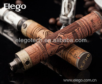 2014 hottest Vision E-fire kit wooden electronic cigarette in stock
