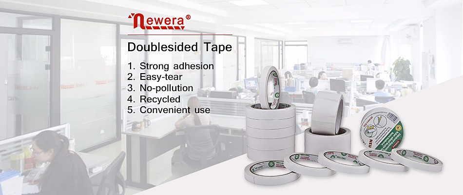 China Products high quality White double-sided adhesive tape