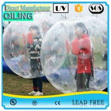 QILING china supplier huge fun toy plastic hamster ball for sale
