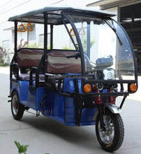 Tricycle Passenger's/electric tricycle taxi/electric rickshaw for Africa keke