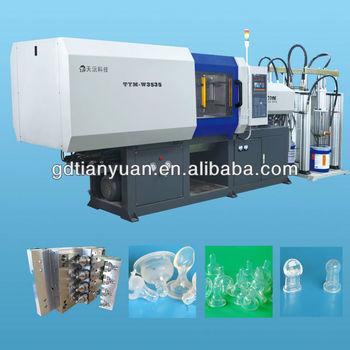 liquid silicone injection molding machine for baby nipple