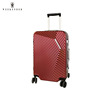 New Product 2017 ABS Aluminum Frame Pilot Trolley Luggage Case