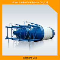 horizontal silo for cement in concrete batching plant