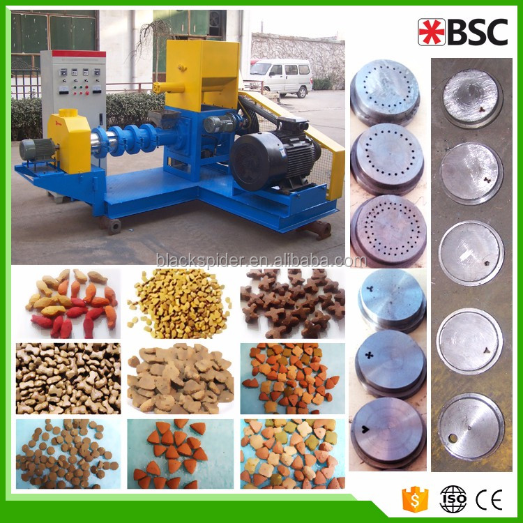 Floating Fish Feed Pellet Making Machine/Fish Food Extruder price