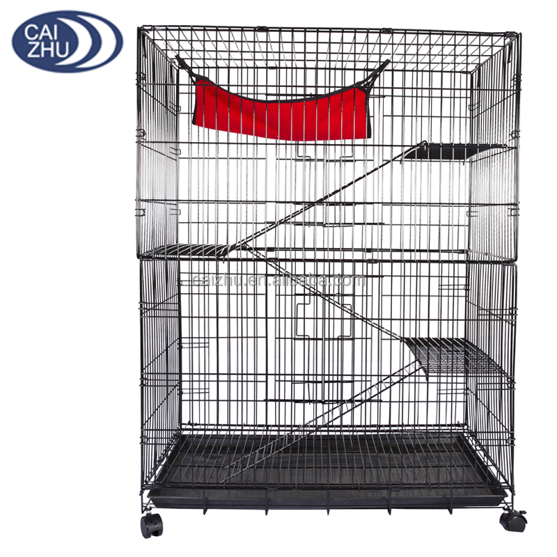 2016 Mannufacturer china metal pet cat cage for sale cheap