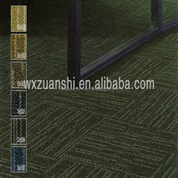 DA502, Work place flooring carpet tiles, Multi-level loop piles PP carpet tiles