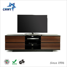 living room tv lcd wooden cabinet designs with TV mount for exporting