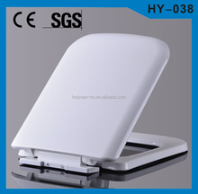 HY-038 PP soft closing indian toilet seat price image cera WC toilet seat