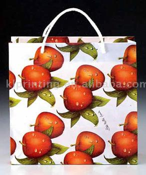Shopping Bag paper carrying custom made bags