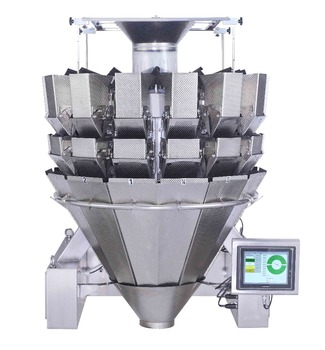 14heads dimpled buckets multi head combination weigher JY-14HDDT