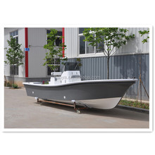 Liya 19ft deep V hull fiberglass used fishing panga boats for sale