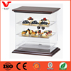 Wooden MDF and acrylic material display cases for fruits