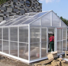 UV coated 2-16mm greenhouse roofing polycarbonate solid sheet plastic garden sheds lexan polycarbonate price