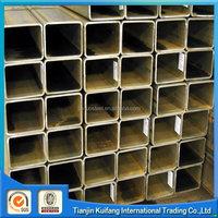 ASTM A500 GR.B MS iron square steel pipe