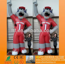Outdoor inflatable air sporting wolf