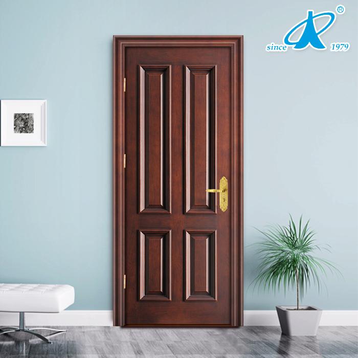 Modern teak wood wooden main entrance door models design for Teak wood doors models