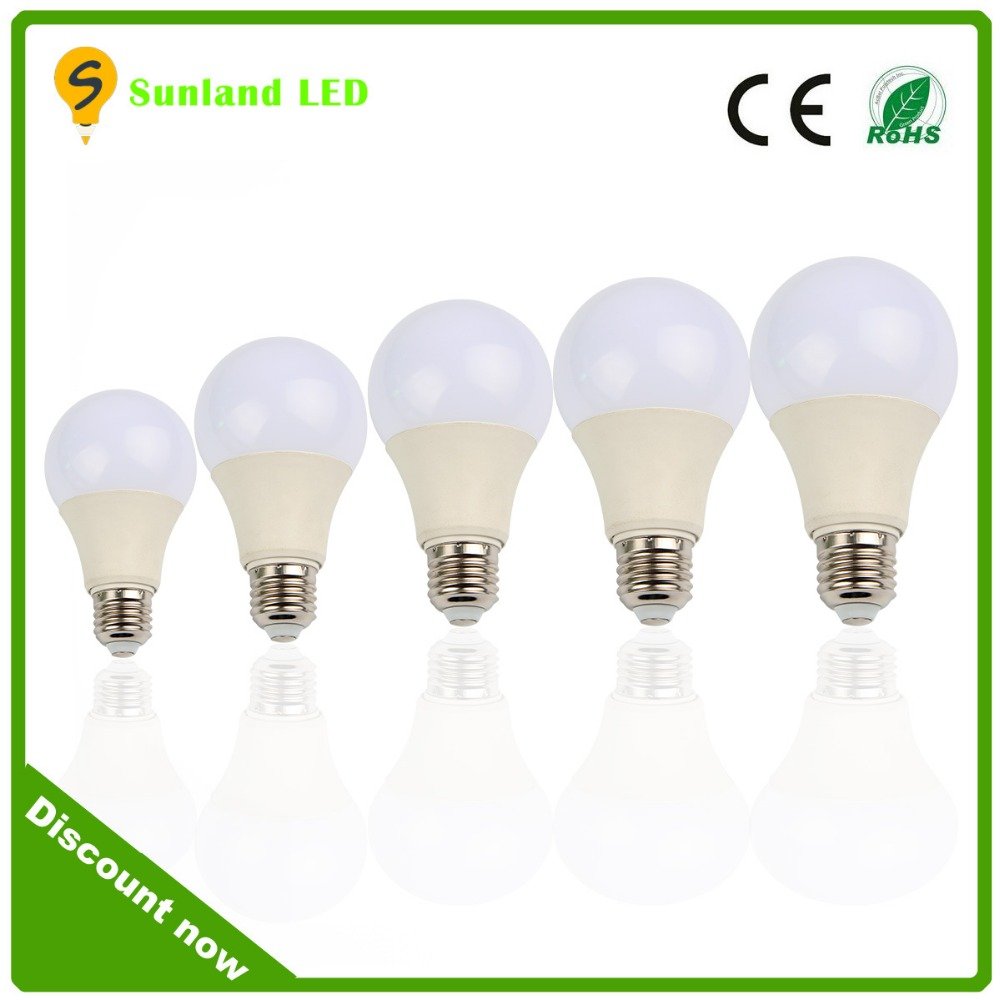 Home lighting best choice CRI>80Ra PF>0.85 plastic with aluminum led e27 bulb 220v , bulb lights led , led light bulb a19