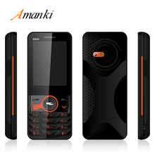 2017 New Products!High Quality Wholesales Amanki Factory China Cheap Basic Feature Bar Phone 2.4inch Dual Sim Mobile Phone