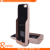 Ranphys cheap price Battery Charging Power Case backup bank power case for iPhone 5/5c/5s/5se