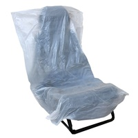 Transparent lowest price disposable plastic car seat cover