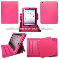 Newest Designs Wholesale Tablet Rotation Case With Stand For iPad 3