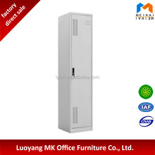 Good quality cheap gray sing door locker for changing room