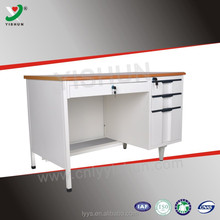Modern executive steel office desk / office reception desk / computer desk