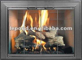 Latest Design Glass Fireplace Glass Door Buy Aluminium Glass Door Design Ceramic Glass