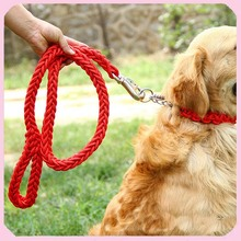 Wholesale Nylon Braided Dog Leashes and Collars For Large Dogs