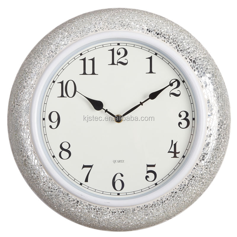 crystal craft clock for wedding couple